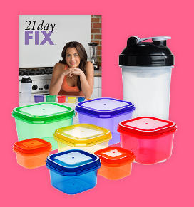 containers for the 21 day fix program